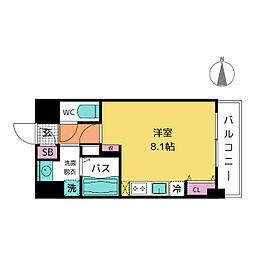 グランルージュ栄II[11階]の間取り
