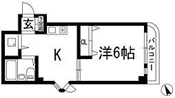 プチ鉢塚[2階]の間取り
