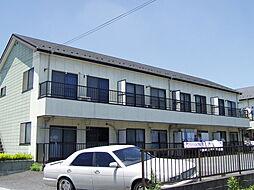 埼玉県草加市中根2丁目の賃貸アパートの外観