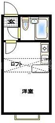 ベルピア平塚第11[1階]の間取り