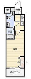 No.65 クロッシングタワー ORIENT BLD.[5階]の間取り