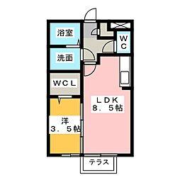 SORa[1階]の間取り