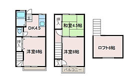 [テラスハウス] 神奈川県相模原市南区文京1丁目 の賃貸【/】の間取り
