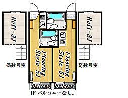 エクセル7[2階]の間取り