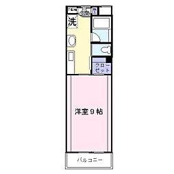 サングレイス湘南[4階]の間取り