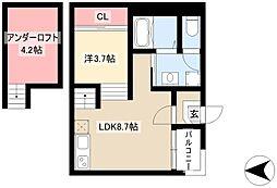 高畑駅 6.2万円