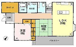 [一戸建] 神奈川県相模原市中央区田名 の賃貸【/】の間取り