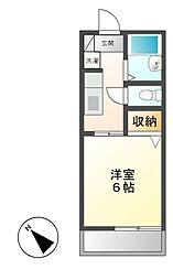 神奈川県川崎市宮前区宮前平3丁目の賃貸マンションの間取り