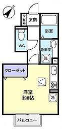 エトワール 八千代中央[1階]の間取り
