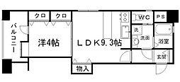 アイビースクエアマンション[915A号室]の間取り