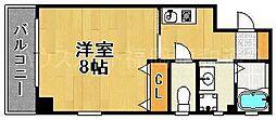 ノエル藤崎[2階]の間取り