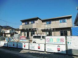 岡山県岡山市中区兼基丁目なしの賃貸アパートの外観