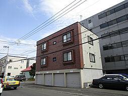 北海道札幌市東区北四十二条東16丁目の賃貸アパートの外観