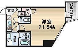 エコロジー立売堀レジデンス[7階]の間取り