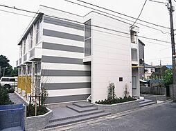 東京都足立区一ツ家1丁目の賃貸アパートの外観