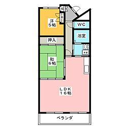 シティプレイス[9階]の間取り