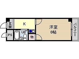 コーポナーサリー[3階]の間取り
