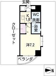 カレント新栄[7階]の間取り
