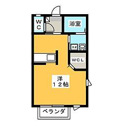 シャルムF[2階]の間取り