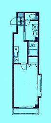 クレールメゾンB[2階]の間取り