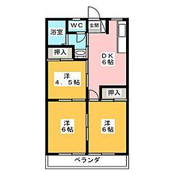 かーさみき[2階]の間取り