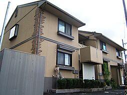 京都府宇治市菟道東中の賃貸アパートの外観
