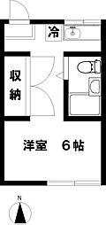 メゾン高倉[2階]の間取り