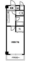 新大阪エクセルハイツ[5階]の間取り