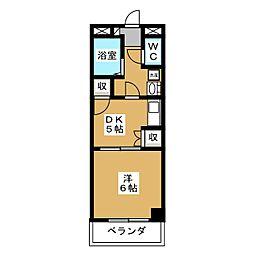 Andante19[3階]の間取り