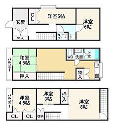 寺田町駅 1,580万円