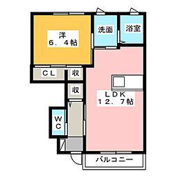 アメージングI[1階]の間取り