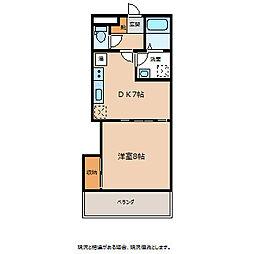 シェトワ江戸浜[3階]の間取り