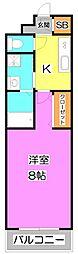 プレジール 〜plasir(喜び)〜[2階]の間取り