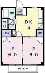 ニューシティ杉田No1[2階]の間取り