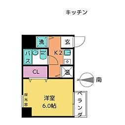 メゾンイマイ[4階]の間取り