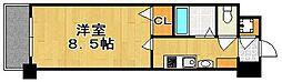 エンクレスト赤坂弐番館[6階]の間取り