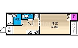 ビルシャナ鶴見[2階]の間取り