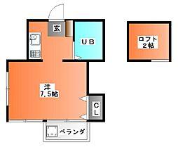 セレサコート[2階]の間取り