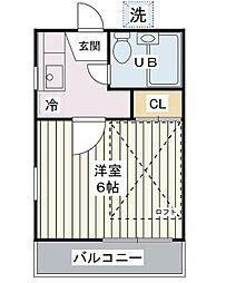 ミッキーハウス[2階]の間取り