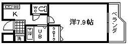 セゾンコート春木[11号室]の間取り