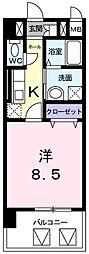 レジデンス川崎大師[7階]の間取り