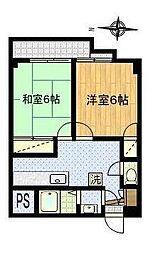 ステージ仙台坂[B302号室]の間取り