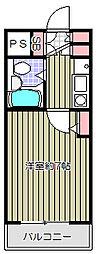 イーストコートS[1階]の間取り