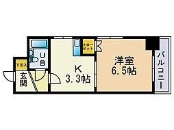 オクト大手門[4階]の間取り