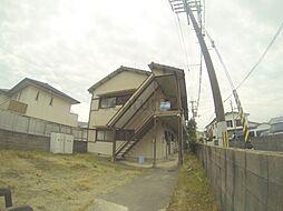 大阪府池田市豊島北1丁目の賃貸アパートの外観