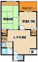 正井ビル[2階]の間取り