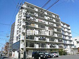 日比野マンション[4階]の外観