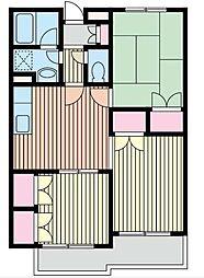 SUDAMANSION(スダマンション)[3階]の間取り