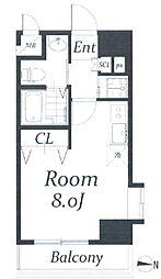 アクアタウンイースト II[2階]の間取り