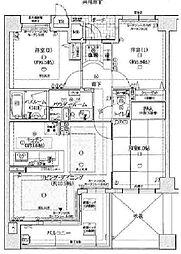 セントファミーユ西神戸ノースフィールド[4階]の間取り
